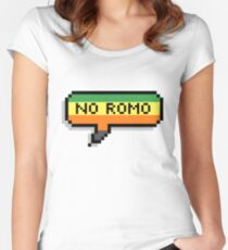 No Romo Women's Fitted Scoop T-Shirt
