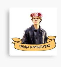 dean forester flower crown sticker Canvas Print
