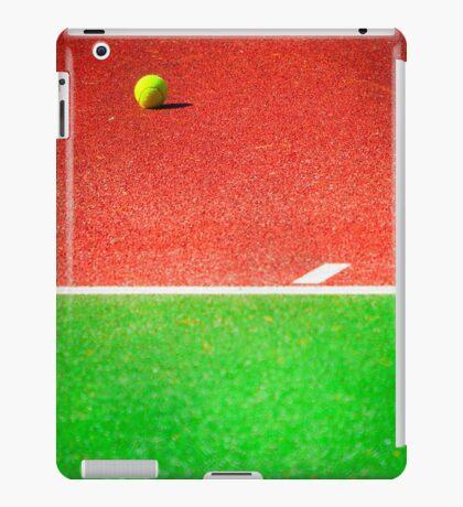 Yellow tennis ball iPad Case/Skin