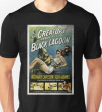 Creature From The Black Lagoon Vintage Poster T-Shirt