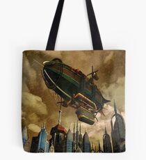 Steampunk Airship 3 Tote Bag