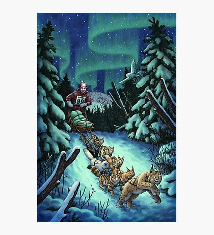 Gilly & the Snowcats Photographic Print