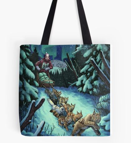Gilly & the Snowcats Tote bag