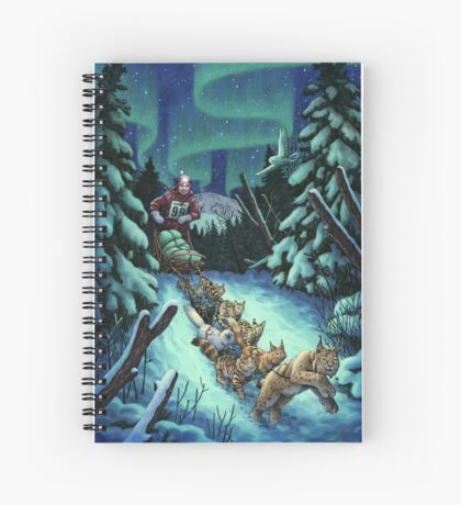 Gilly & the Snowcats Spiral Notebook
