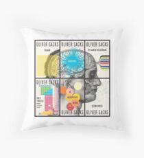 Cardon Webb book covers for Oliver Sacks Throw Pillow