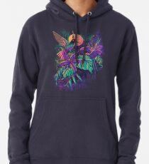 Purple Garden Pullover Hoodie