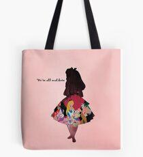 Alice In Wonderland ~ We're All Mad Here  Tote Bag