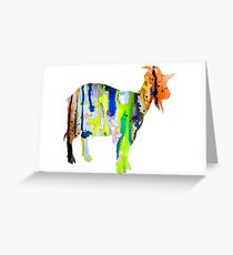 Goat 3 Greeting Card