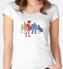 Let's Save the Planet! Women's Fitted Scoop T-Shirt