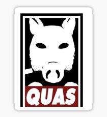 LORD QUAS Sticker