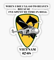 Vietnam Vintage War Soldiers Sticker