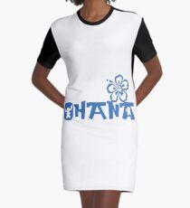 Ohana Graphic T-Shirt Dress