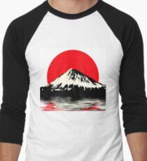 Mount Fuji Men's Baseball ¾ T-Shirt
