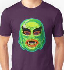 Vintage Creature From The Black Lagoon Mask T-Shirt