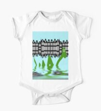 Loch Ness Monster on holiday in Amsterdam Kids Clothes