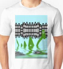 Loch Ness Monster on holiday in Amsterdam T-Shirt