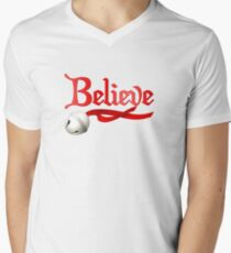 Believe Jingle Bell Christmas T-Shirt