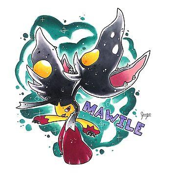 Mega Mawile by palepurplepaint