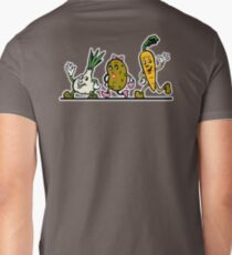 VEGGIES, Vegetables, Vegitarian, Veegan, Veg, Cartoon, fun, funny Mens V-Neck T-Shirt