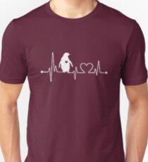 Penguin Heart Beat T-Shirt