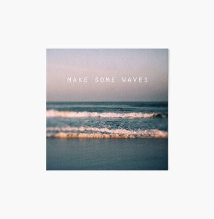 Make Some Waves Art Board