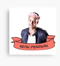 kevin pearson flower crown sticker Canvas Print