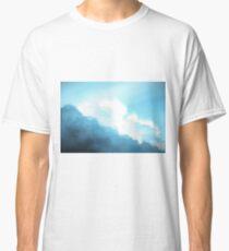 aesthetic cyan clouds Classic T-Shirt
