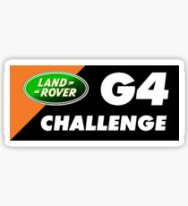Land Rover G4 Challenge Sticker