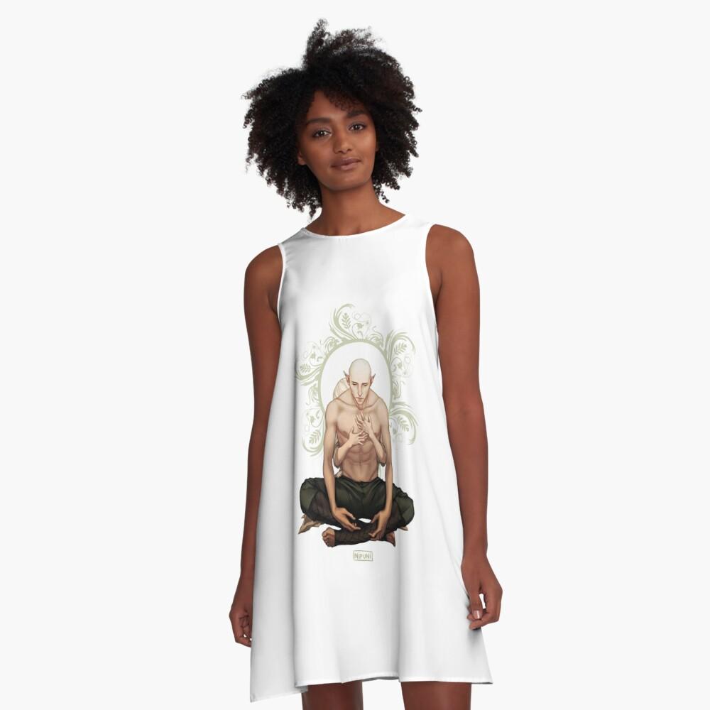 Hoffnung A-Linien Kleid