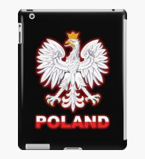 Poland - Polish Coat of Arms - White Eagle iPad Case/Skin