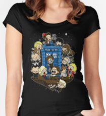 Let's Play Doctor Women's Fitted Scoop T-Shirt