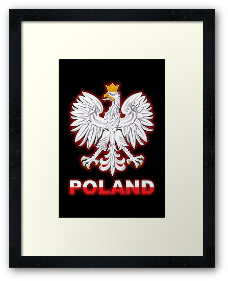 Poland - Polish Coat of Arms - White Eagle by graphix