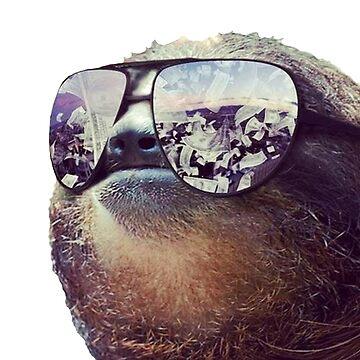 Big Money Sloth by Poyo