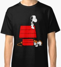 Snoopy and Hobbes Classic T-Shirt