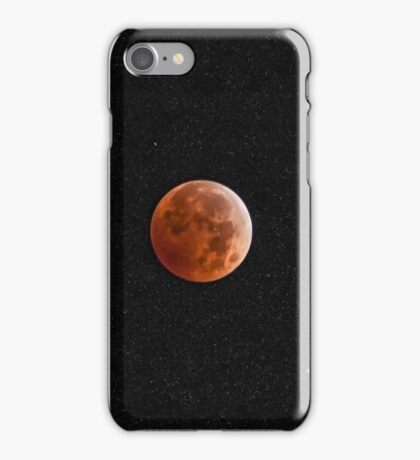 Redhead in the Stars iPhone Case/Skin