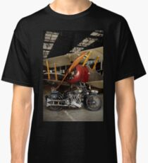 Brough Superior SS 100 and Biplane Classic T-Shirt