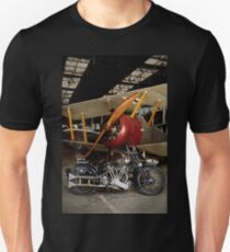 Brough Superior SS 100 and Biplane Unisex T-Shirt