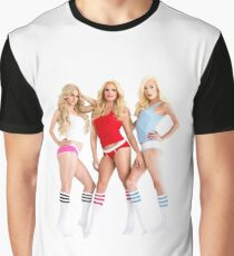 AMERICAN APPAREL AD GIRLS Graphic T-Shirt
