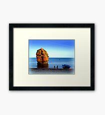 Ladram Rock Framed Print