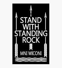 Official Standing Rock Shirt Photographic Print
