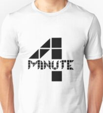 4Minute Black Unisex T-Shirt