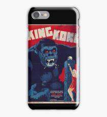 King Kong Vintage Retro Movie Poster iPhone Case/Skin