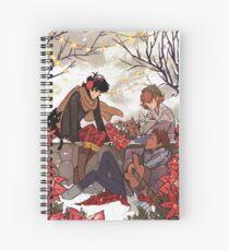 Winter Song Spiral Notebook