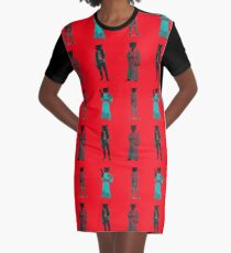 cat solo and gang Graphic T-Shirt Dress