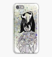 Iceberg Penguin Kiss iPhone Case/Skin