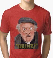 """Drink!"" Tri-blend T-Shirt"