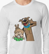 Scooby and Shaggy Long Sleeve T-Shirt