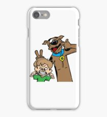Scooby and Shaggy iPhone Case/Skin