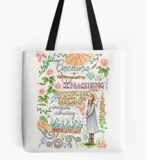 Anne of Green Gables quote                                                                                                 Tote Bag