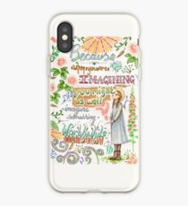 Anne of Green Gables quote                                                                                                 iPhone Case